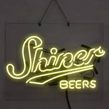 Shiner Neon Light Shiner Beer Neon Sign Beer Bar Pub Store Party Room Wall