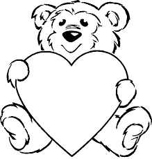 Valentine Coloring Pages For Kids Clip Art Library
