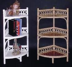 Wicker Corner Shelves Wicker Storage Shelves Wicker Corner Cabinet Tall Shelf 25