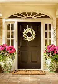 front door entryBest 25 Brown front doors ideas on Pinterest  Door wreaths