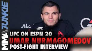 UFC on ESPN 20: Umar Nurmagomedov full ...
