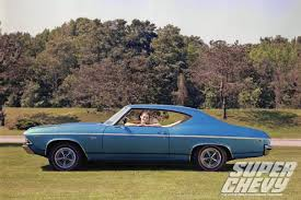 1969 chevrolet stripe