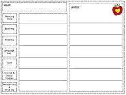 Off Task Behavior Chart Daily Notes Tally Behavior Chart By Pencilspensandpaws Tpt
