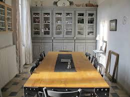 Grande Table De Cuisine Intérieur Déco