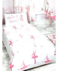 ballerina twin bedding ballerina comforter sets born to single duvet cover and pillowcase set bedding