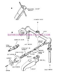 leaking bathtub faucet two or three handle bath tub shower faucet repair 3 handle bathtub faucet