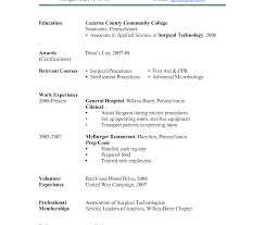Culinary Coverter Surgical Tech Resume Sample Sous Chef Internship