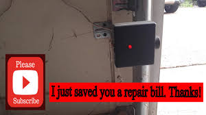 garage door sensor blinkingGenie Garage Door Opener Not ClosingEasy Fix  YouTube