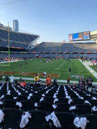 Soldier Field Section 121 Home Of Chicago Bears