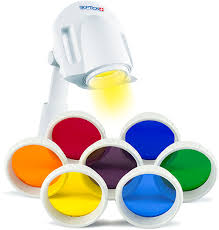 Led Light Therapy Color Chart Color Light Therapy Sets