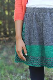 Knit Skirt Pattern Impressive Ravelry New Girl Pattern By Allyson Dykhuizen