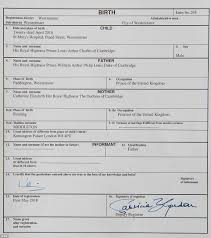 Prince William Signs Prince Louis' Birth Certificate | Daily Mail Online