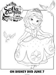 Sofia The First Coloring Pages To Print The First Printable Coloring