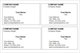 Photoshop Business Card Template Blank Business Card Template Printable Photoshop Business Card Template A4