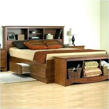 Bed Frame With Storage Underneath Queen Size Bed Frame With Storage ...