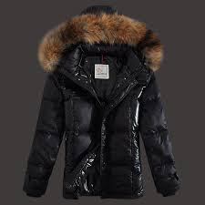 best uk mens moncler down jackets zip rac fur collar black moncler wwt0y8z authentic