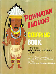 Buy Powhatan Indians Coloring Book How The Woodland Indians Lived