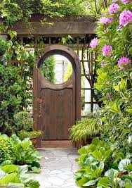 Small Picture Simple Garden Door Jardin Gate Inside Inspiration