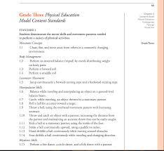 Pe Lesson Plan Grade 3 P E Standard 1 Lesson Plan Sandra