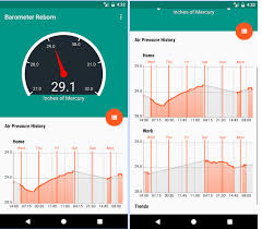 Barometer Chart 11 Best Barometric Pressure Apps For Android Android Apps
