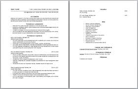 Social Work Resume Objectives Sample Resumes For Social Workers