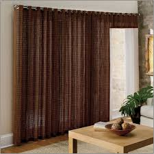 sliding glass door curtain rods staggering curtain over sliding glass door hanging rods curtains home
