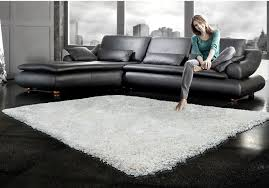 White Living Room Rug Loft Pure White Shag Area Rug 5 X 8 The Brick