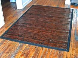 bamboo area rug about rugs with rubber backing 4x6