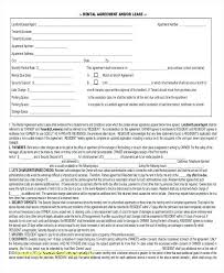 Free Rental Lease Agreement Form Simple Pdf Post Basic Rent – Peero Idea