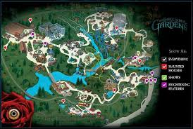busch gardens williamsburg howl o scream map