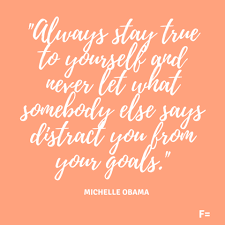 Self Empowerment Quotes Michelle Obama's Top 100 Empowering Quotes F = For women on the rise 43