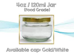 120ml glass jar pimiento wide mouth 1 box 24pcs