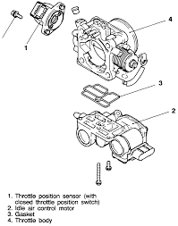 I need a diagram of where the iac valve position switch is located in a 1994 mitsubishi galant