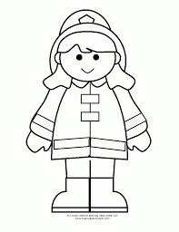 Small Picture Firefighter coloring pages for girls ColoringStar