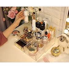 XUMINGSNH Cosmetics Storage Box Desktop ... - Amazon.com