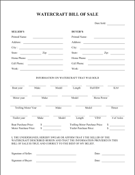 Download Boat Bill Of Sale Form For Free Formtemplate