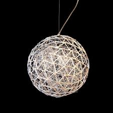 Wire Pendant Light Arrow 10 Light Spherical Wire Abstract Ceiling Pendant Light