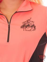Cowgirl Tuff Athletic Shirt 100180