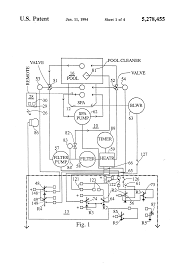 patent us5278455 spa and pool pump and heater control google patent drawing