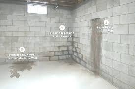 water seeping through concrete slab basement water seepage systems water seeping through concrete basement floor hot water seeping