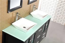 entranching 61 vanity top of vanities double bowl g sink bathroom inside quartz tops decor 14