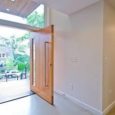 china modern pivot design oak solid