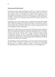 our gbu bioepistemological educational project beemp 7 a world university technopedagogy i online pedagogical model 9 8 educational