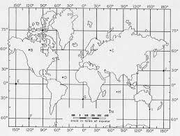 Latitude Scale Chart Latitude And Longitude Practice Map