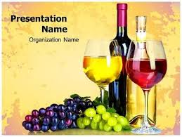 Wine Powerpoint Template Download Grapes Wine Powerpoint Template For Your Upcoming