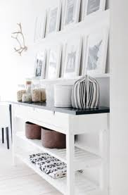 white entryway furniture. DIY The NORDEN Occasional Table With Fresh Looking Black And White Entryway Furniture D