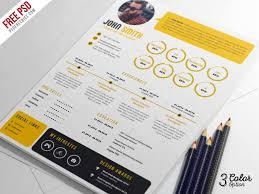 Creative Resume Amazing Creative Resume CV PSD Bundle PSDFreebies