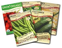 garden seed. Garden Vegetable Seed Packets Corn Bean Cucumber Lettuce And