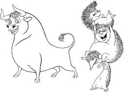 Coloring Pages Ferdinand The Bull Movie 6 Colors Of Pictures
