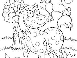 Animal Coloring Pages For Preschoolers Jungle Animals Coloring Page